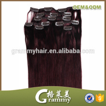 No tangle no shed factory wholesale cheap synthetic cheap kinky curly clip in hair extension