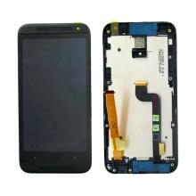 (Todos los modelos del teléfono en la acción) Pantalla táctil del LCD del precio bajo para el deseo 601 de HTC con el capítulo