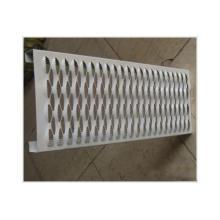 Peças de metal de perfuração personalizadas e folha de alumínio perfurada