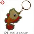 Promotion Weihnachtsgeschenk PVC Keychain mit Schlüsselring