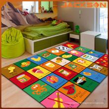 Nach Maß Anti-Rutsch-wasserdichtes Kind, das Teppich lernt