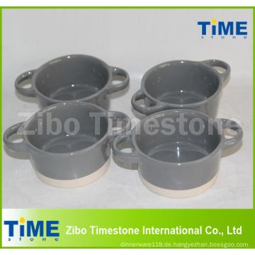 Runder keramischer Mikrowellenherd-Safe Cake Pan