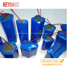 Heat shrink tube for battery or capacitor pack