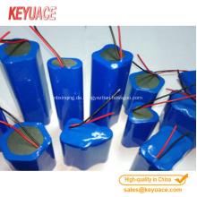 Schrumpfschlauch für Batterie oder Kondensatorpackung