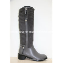 16fw Hot Sale Flat Knee Ladies Boots
