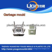 China de inyección de basura de plástico bin molde / materia prima molde de plástico para la basura bi