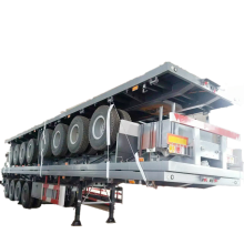 Steel Material Flatbed Trailer