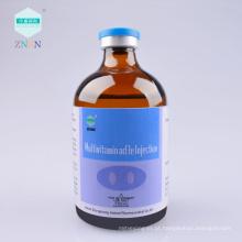 Injeção de multivitaminas ad3e