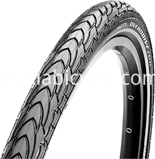 Strong Black Color Bike Tire