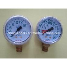 O2 Gauge Flow Meter & Oxygen Pressure Gauges
