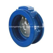 Válvula de retenção de rotação de uma placa / disco