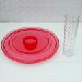 Jarra de plástico transparente con infusión de fruta 6.5L