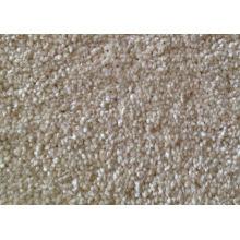 Snow White Color Stainproof Tufted Pp Cut Pile Berber Carpet , 25 - 27m Long