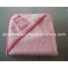 Customed ребенка банное полотенце с капюшоном (SST0305)