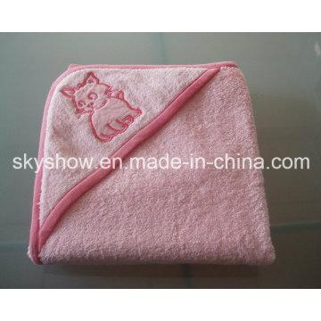 Toalha de banho com capuz para bebê personalizada (SST0305)