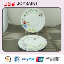 Opal Glass 9′flate Plate