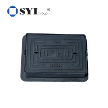 Spheroidal cast iron D400 heavy duty manhole cover