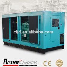 200kva generador silencioso diesel de emergencia para el uso de centros comerciales con motor cummins 200kva generador de bajo ruido
