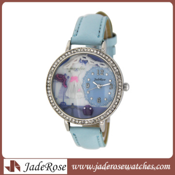 Luxury Rhinestone Leather Watch Diamond