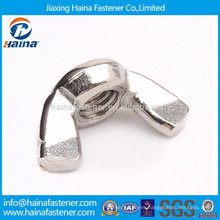 In stock DIN315 stainless steel wing nut metric fastener