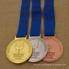 2016 Top Venda de Metal Personalizado Medalha de Esportes, Medalha de Corrida, Medalha de Maratona em Metal