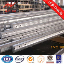 Hot DIP Galvanized Polygonal Steel Material 25FT-40FT Electric Pole