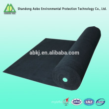 High temperature Non-Woven needle punched activated carbon fiber resistant felt