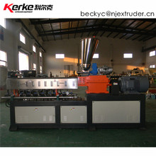 KTE-36 use double screw compound extruder