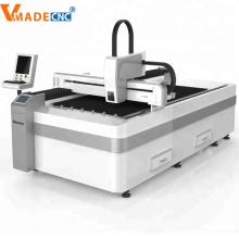 Máquina de corte por láser de fibra de acero inoxidable 1000W CNC