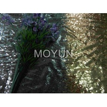 POLY MESH WITH 3MM +3MM SEQUIN EMBD 50/52""