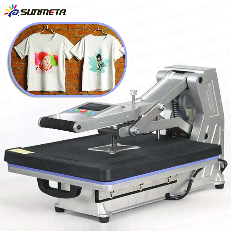 Sunmeta Automatic Heat Press Machine For T Shirt