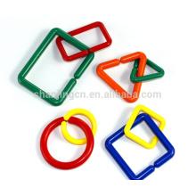 Jogos inteligentes da venda inteira geométrica para crianças, blocos do brinquedo, brinquedos populares para crianças