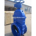 DN500 wcb body non-rising stem resilient soft seated gate valve BS 5163