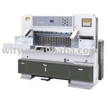 Máquina de corte hidráulica de exibição de dígitos