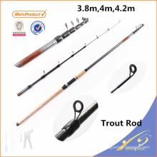 TRR001 Chinois pêche tackle haute tige de canne à pêche en vrac tige de truite
