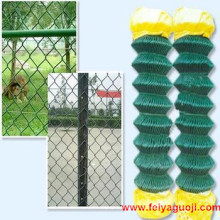 PVC beschichtete Kette Link Zaun Anping Fabrik