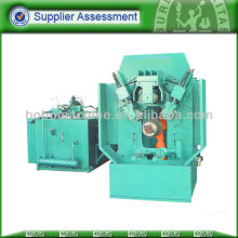 Steel wheel and rim machine