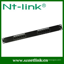 "19"" Network 12 Ports UTP Cat6 Patch Panel"