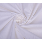 Cotton Sateen White Color Sheeting Fabric