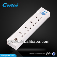 Dual usb electrical switch socket