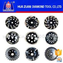 High Efficiency Diamond Grinding Wheel for Stone Polishing