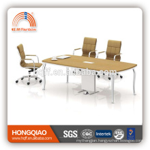 (MFC)HT-23-24 modern conference table stainless steel frame for 2.4M conference tables for sale