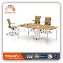 (МФЦ)ХТ-23-24 современный конференц-стол из нержавеющей стальная рама 2.4 М конференц-столы для продажи