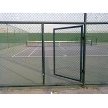 Maille de clôture de lien de chaîne de maille de barrière de lien de chaîne de PVC