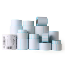 Custom blank self adhesive thermal label roll