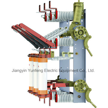 Interruptor de Quebra de Carga da Unidade Combinada do Fusível com Faca de Aterramento-Yfn5-12r (T) D / 125-31.5