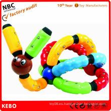 Innovadores juguetes de conexión de plástico