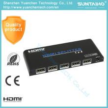 2.0V HDMI Adapter 1*4 Ports 1080P HDMI Splitter