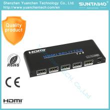 O adaptador de 2.0V HDMI 1 * 4 move o divisor de 1080P HDMI