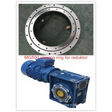Roulement d'orientation Mg500 pour Reduktor